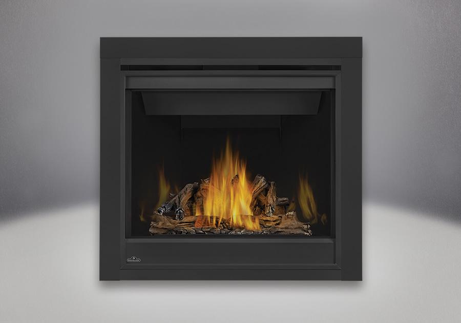 PHAZER<sup>®</sup> Log Set, MIRRO-FLAME<sup>™</sup> Porcelain Reflective Radiant Panels, 2