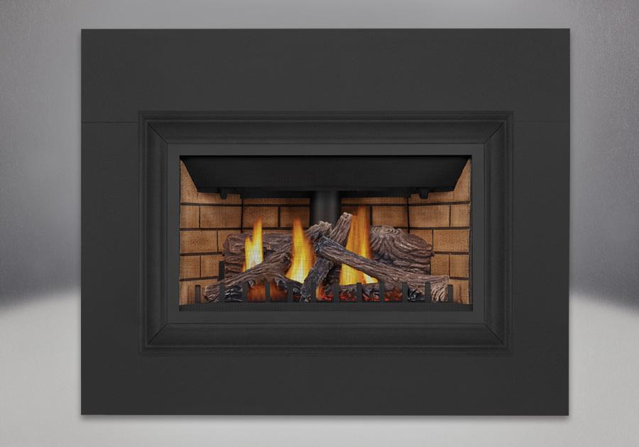 PHAZER<sup>&reg;</sup> Logs, Decorative Sandstone Brick Panels, Four Sided Aluminum Extrusion Kit, Four Sided Bakerplate