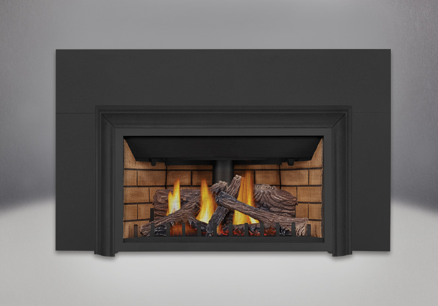 PHAZER<sup>&reg;</sup> Logs, Decorative Sandstone Brick Panels, Three Sided Aluminum Extrusion Kit, Three Sided Bakerplate