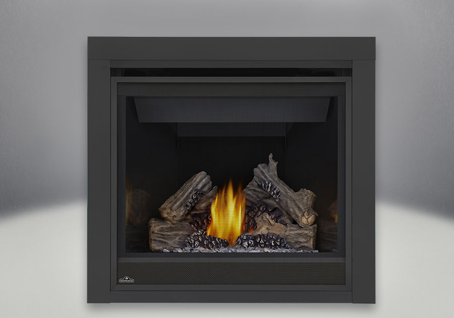 The MEM mantel fits the Ascent<sup>™</sup> 36