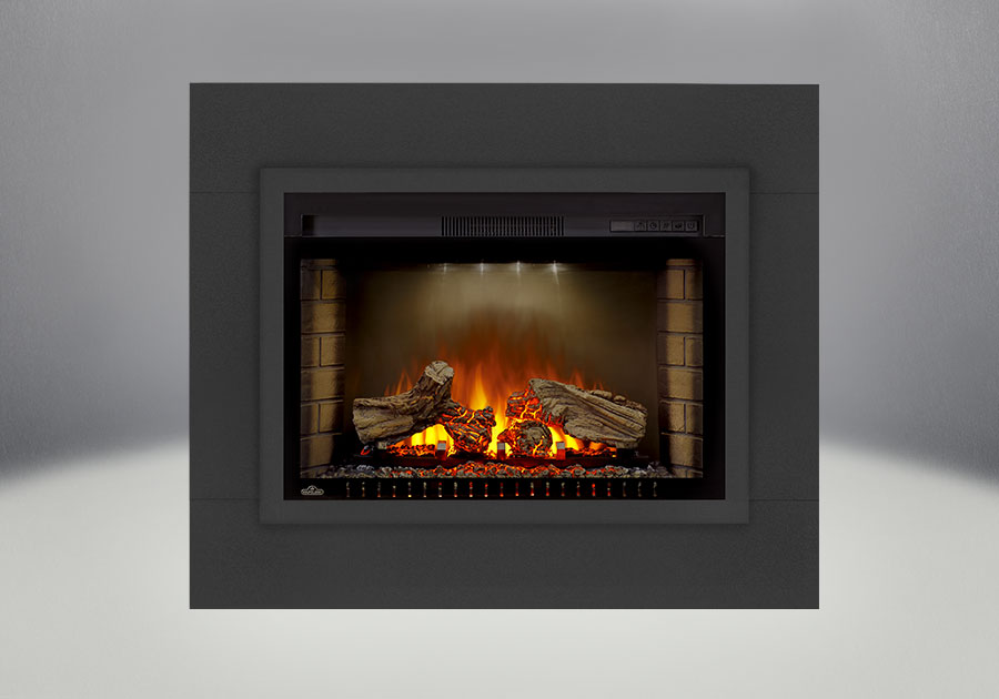main electric direct log cinema napoleon product image fireplaces fireplace products