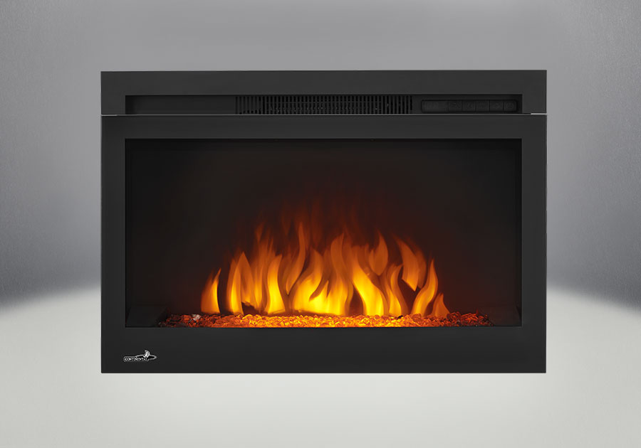 Comes with the Cinema <sup>™</sup> Glass 27 Electric Fireplace