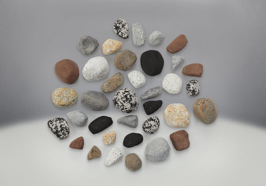 Mineral Rock Kit, comes with rocks in a variety of shapes, sizes and colors