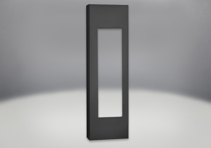 Black Adjustable Mounting Cabinet