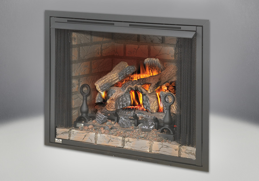 Zero Clearance Firebox with Fireplace Screen Available in 36