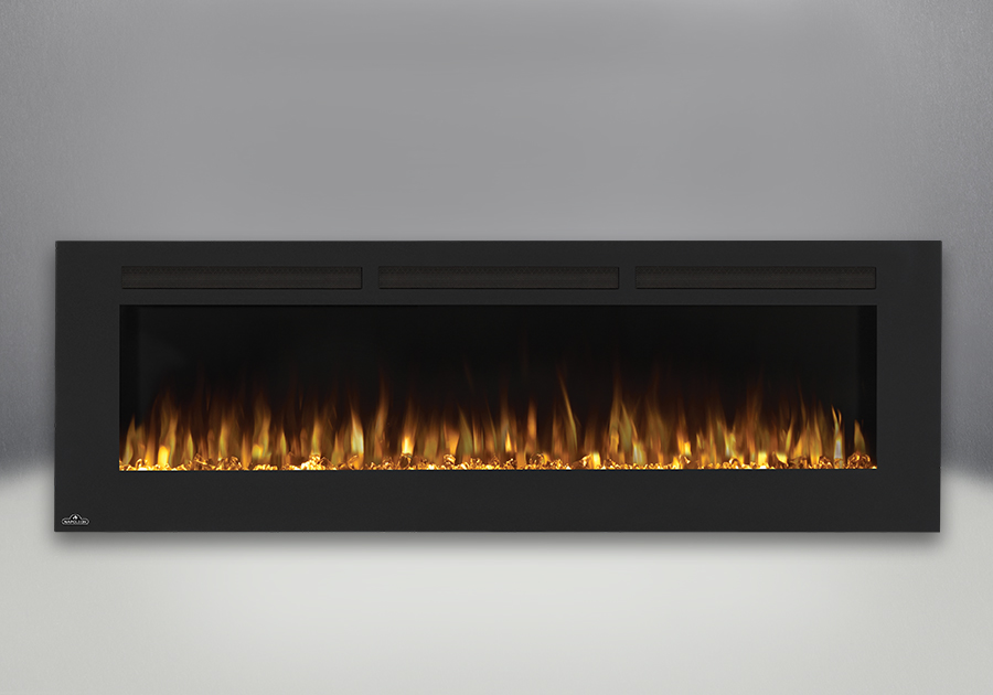 Excellent Napoleon Allure 72 Electric Fireplace Nefl72Fh Interior Design Ideas Greaswefileorg