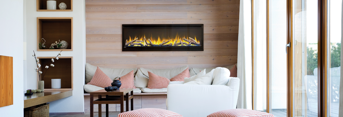 Wall Mounted Alluravision Electric Fireplace Series