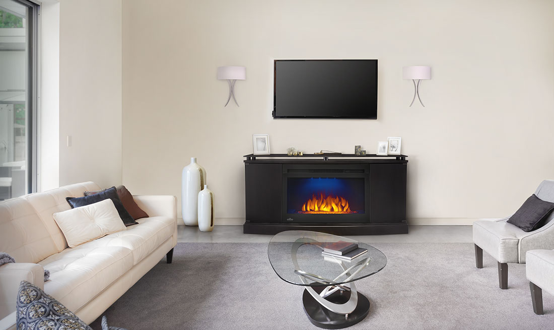 Awe Inspiring Napoleon Anya Electric Fireplace Media Mantel Package Download Free Architecture Designs Grimeyleaguecom