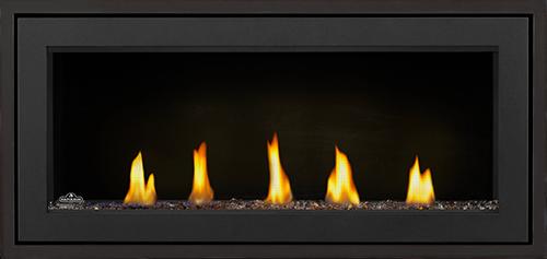 L38 Media Option | Topaz Glass, Standard Black Front, 1 Inch Black Trim