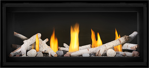 Pleasing Luxuria Series Linear Gas Fireplaces By Napoleon Fireplaces Home Interior And Landscaping Eliaenasavecom
