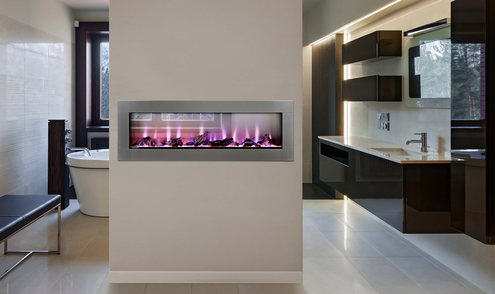 CLEARion See Thru Linear Electric Fireplace & How Direct Vent Fireplaces Work