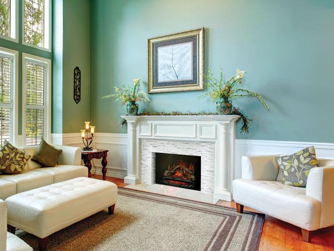 Napoleon woodland fireplace roomset