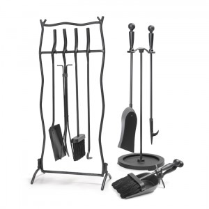 This particular Napoleon tool set is primarily used for wood and pellet fireplaces and they come in a 5 piece set