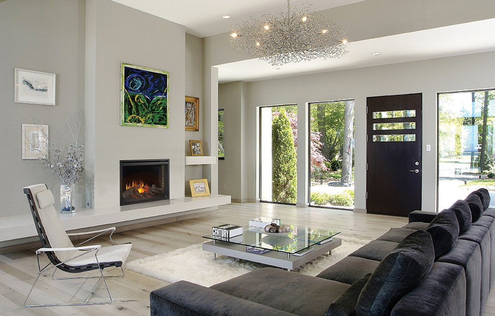 . Contemporary Living Room Design Trends   Napoleon Inspiration Gallery