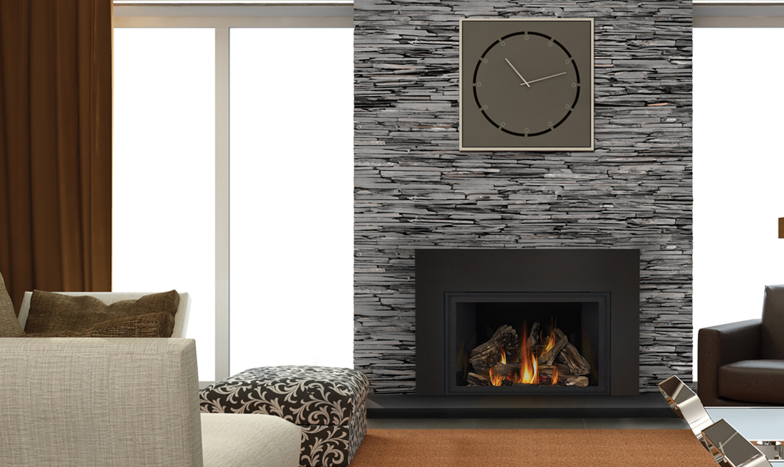 The Napoleon Infrared X4 Gas Fireplace Insert entertains a new level of fire and comfort. With a burner system that results in a stunning flame pattern