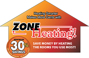 Zone Heating Logo