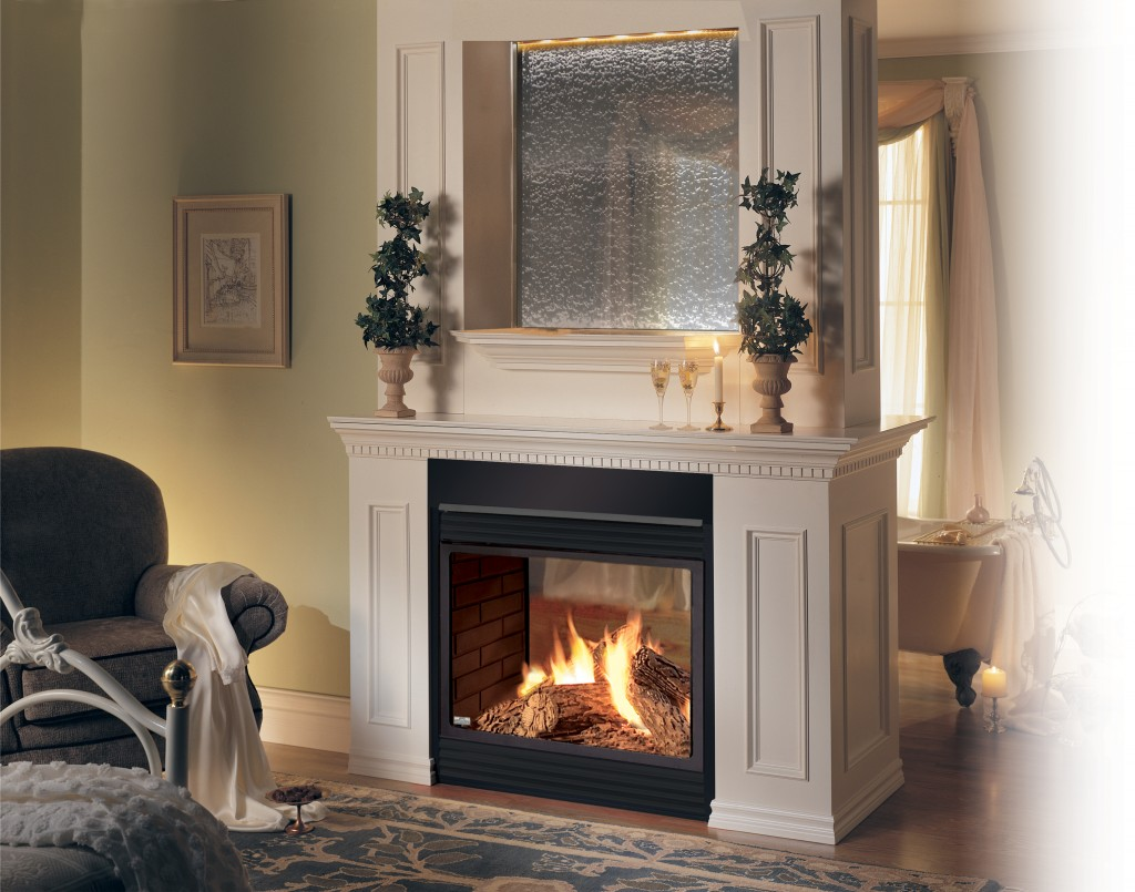 Fireplace With Mantel Decorations
