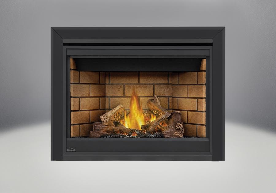 PHAZER<sup>®</sup> Log Set, Sandstone Panels, Bevelled Trim