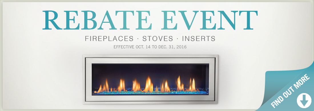 Fireplace Rebate Event