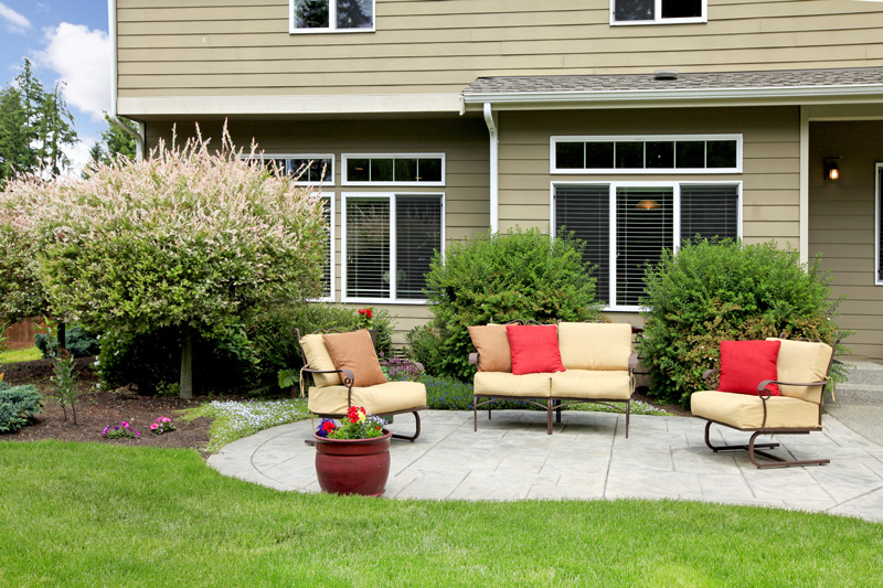 relaxAndEntertain Outdoor living space