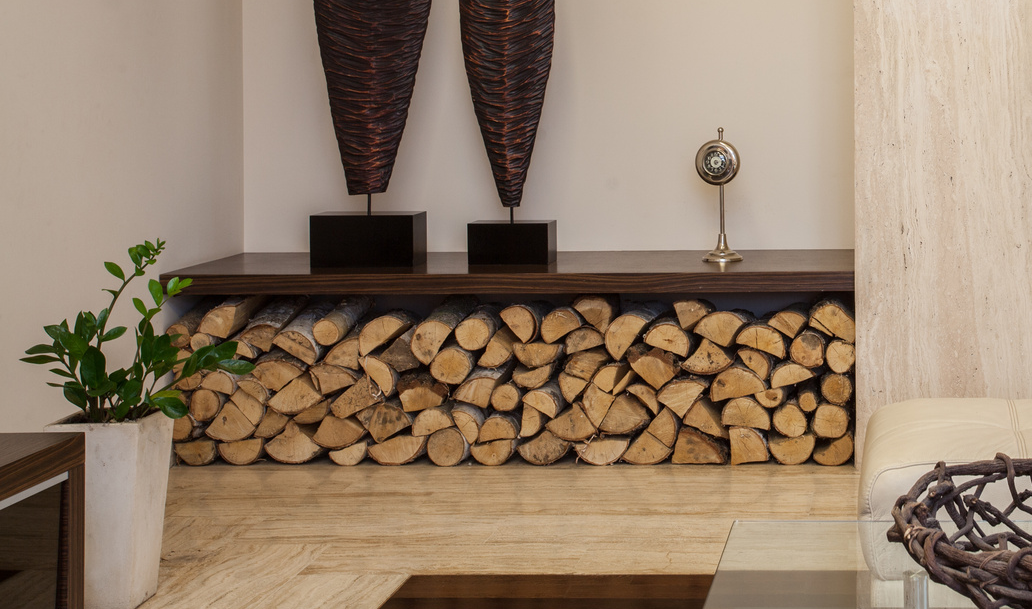 Storing firewood indoors can be achieved in any living space, whether it be outdoors, inside a living room or bedroom. Just aslong as you have the right placement