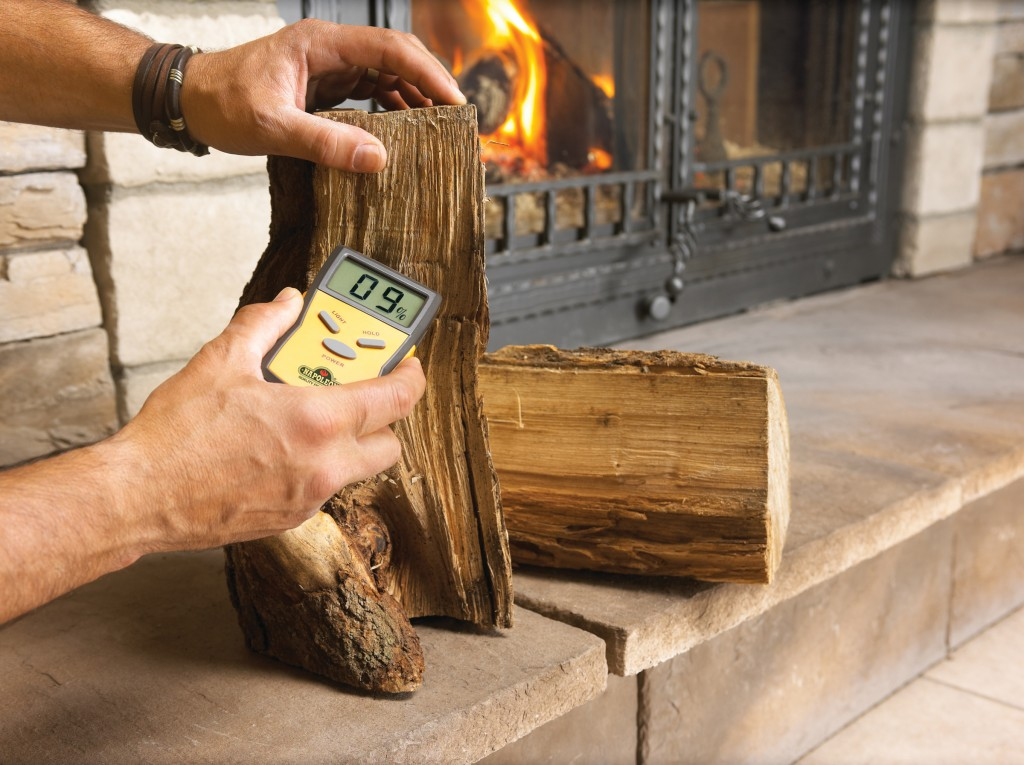 wood moisture meter fireplaces